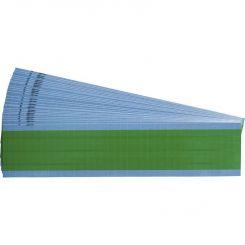 Brady TMM-COL-LG кабельные маркеры 6,35*12,7 мм. зеленый лист (упак./25 шт.)