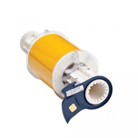 B85-100x10M-584-YL Светоотражающий материал B-584 100мм. Желтый. 10м. (BBP85/Powermark)