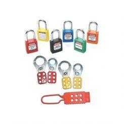 Набор блокираторов стартовый: 2 блокиратора 25 мм (красный и желтый), 2 блокиратора 38 мм (красный и желтый), 6 замков 38 мм (1 цвет), 1 нейлоновый
