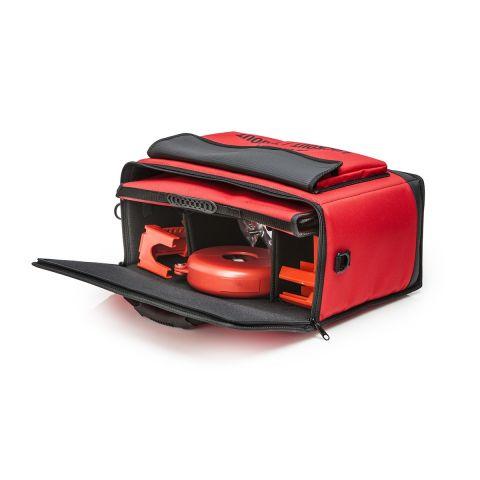 Сумка с блокираторами красная, максимальной комплектации. Включает большую и малую сумки.