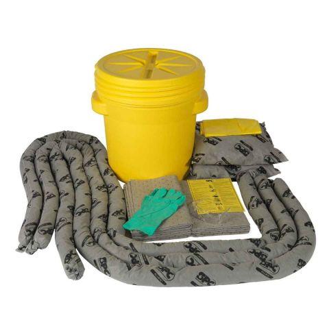 SKA-20 Комплекты для сбора проливов во время ремонта в резервуаре-бочке:12 салфеток, 41 см x 51 см,3 бона SOC, диам. 7.6 см x 366 см, 2 подушки, 43 см