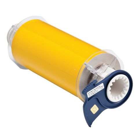 B85-178x10M-584-YL Светоотражающий материал B-584 178мм. Желтый. 10м. (BBP85/Powermark)
