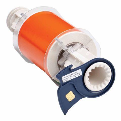 B85-100x15M-595-OR B-595 100 мм. Лента виниловая универсальная оранжевая. Длина 15 м. (BBP85/Powermark)