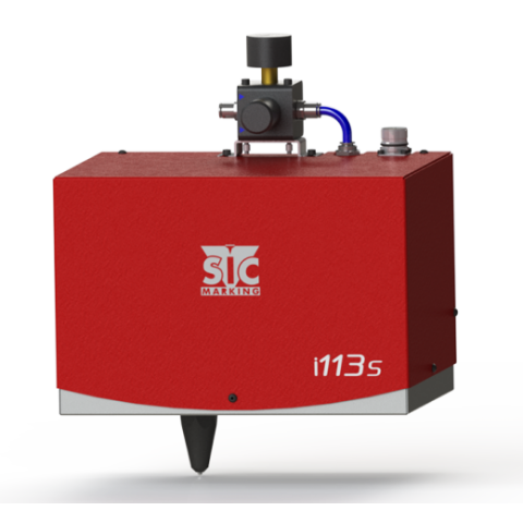 Интегрируемый маркиратор SIC Marking E10-i113S-50 , окно 110х60мм, прочерчивание, поршень d=50мм