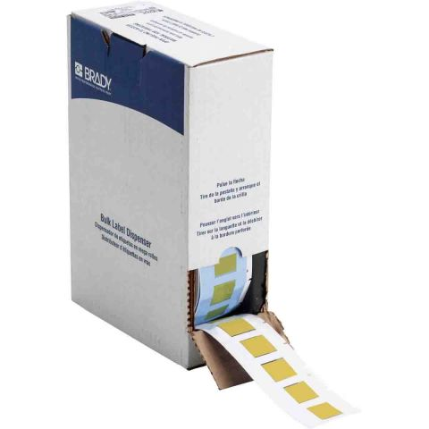 BM71-500-1-342YL этикетки (аналог на TLS/HM BPSPT-500-1-YL) Термоусаживаемые маркеры 25.78х21.62