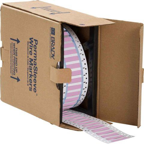 Термоусадочная трубка Permasleeve 3:1(розовая) (250 шт/рул)