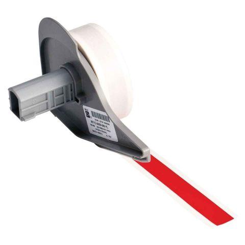 M71C-500-595-RD этикетки. Винил 12.7ммх15.24м. Красный.