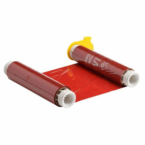 B85-R-220x60-RD Риббон 220 мм красный. Длина 60 м. (BBP85/Powermark)