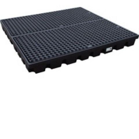 HSW-4-BB Низкопрофильный пластиковый поддон Workfloor с решеткой.