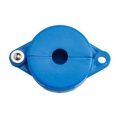 Блокиратор затворных вентилей, раздвижной, синий, диаметр круглого элемента 25-64 мм