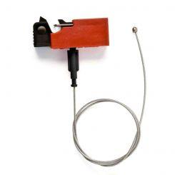 Блокиратор EZ Panel Loc Snap-On для выключателей. Длина троса 0.61м. Может использоваться совместно с дополнительным самоклеящимся держателем