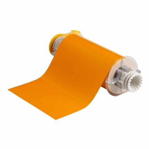 B85-178x15M-569-YL В-569 178 мм. Лента полиэстер высококачественный желтый. Длина 15 м. (BBP85/Powermark)