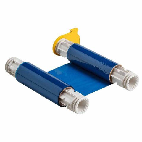 B85-R-158x60-BL Риббон промышленного класса. 158 мм. Цвет: синий. Длина 60 м. (BBP85/Powermark)