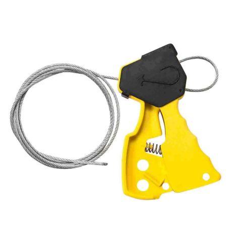Блокиратор тросовый, желтый + 1,8 м корд-шнур