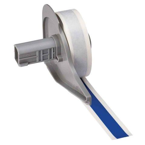 M71C-500-595-BL этикетки. Винил 12.7ммх15.24м. Синий.