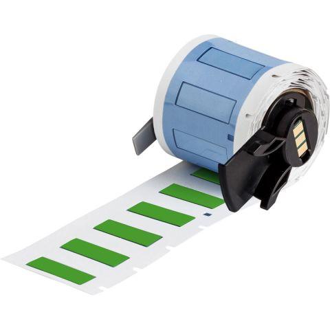 PSPT-187-1-GR термоусаживаемые маркеры 25.78х8.5мм , 100 шт/уп, зеленые