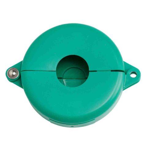 Блокиратор затворных вентилей, раздвижной, зеленый, диаметр круглого элемента 64-127 мм