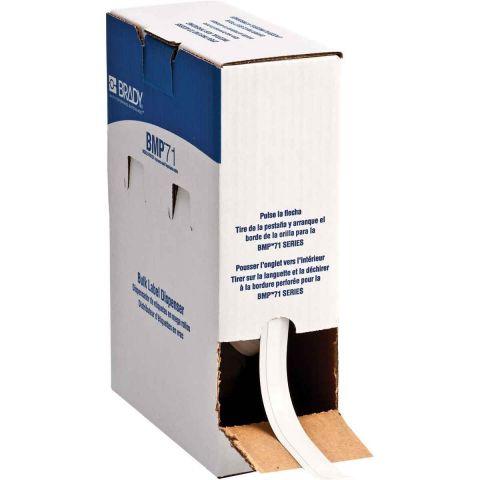 BM71C-375-498 этикетки (аналог на TLS/HM BPTLTB-498-375) Перемещаемая виниловая ткань 9.53х91.4м