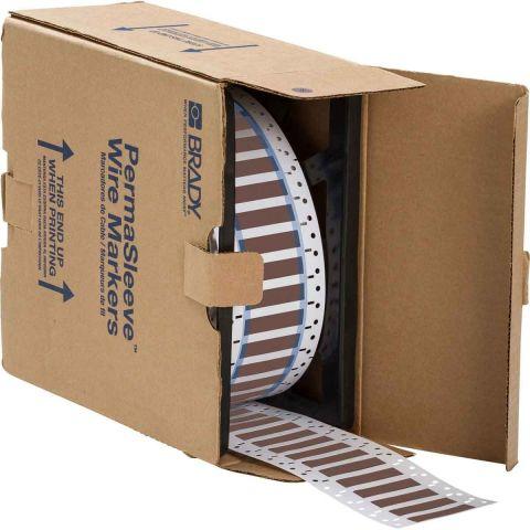 Термоусадочная трубка Permasleeve 3:1(коричневая) (500 шт в рулоне)