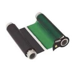 B85-R-158x60-BK/GN-200P Риббон 158 мм. Длина панели 200 мм черно-зеленый. Длина 60 м. (BBP85/Powermark)