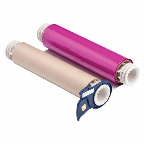 B85-R-220x60-MA Риббон 220 мм розовый. Длина 60 м. (BBP85/Powermark)