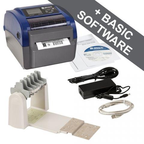 Принтер BBP12. Разрешение 300 dpi. В комплекте держатель рулона.ПО Brady Workstation Basic Suite