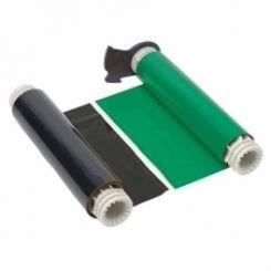 B85-R-158x60-BK/GN-380P Риббон 158 мм. Длина панели 380 мм черно-зеленый. Длина 60 м. (BBP85/Powermark)