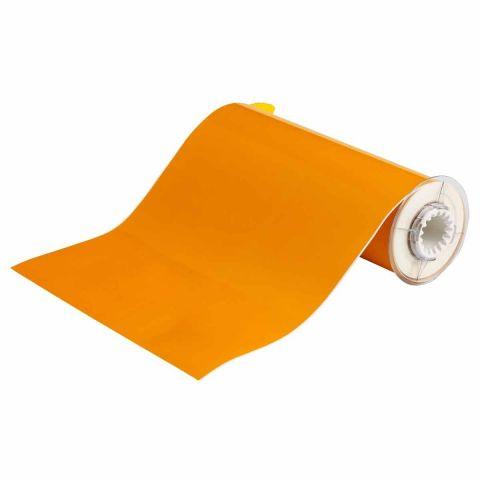 B85-250x15M-569-YL В-569 250 мм. Лента полиэстер высококачественный желтый. Длина 15 м. (BBP85/Powermark)