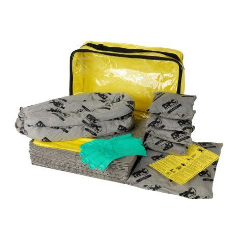 SKA-ADR-L Большой комплект для сбора проливов во время ремонта:35 салфеток, 41 см x 51 см, 1 бон SOC, диам. 7.6 см x 122 см, 1 бон SOC диам.7.6x244 см