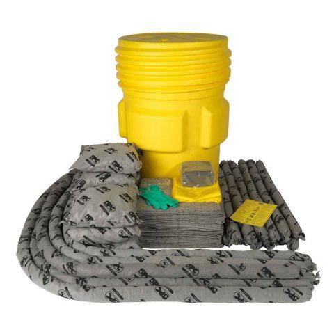 SKA-95 Прочная бочка на 264 л для ремонта: 100 салф, 41 см x 51 см, 8 подушек, 43 см x 48 см, 12 бонов SOC, диам. 7.6x122см, 8 бонов SOC, диам.
