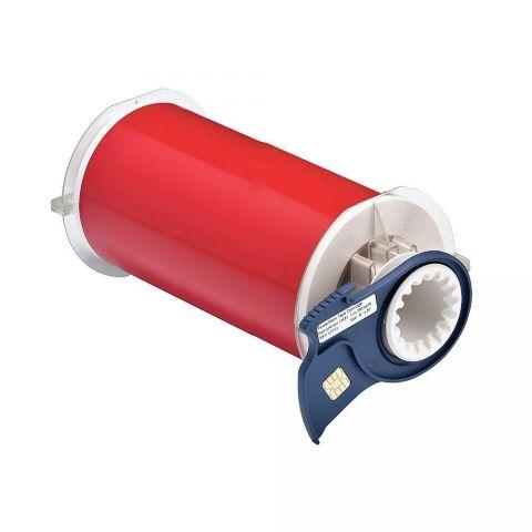 B85-150x15M-595-RD B-595 150 мм. Лента виниловая универсальная красная. Длина 15 м. (BBP85/Powermark)