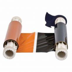 B85-R-158x60-BK/OR-200P Риббон 158 мм. Длина панели 200 мм черно-оранжевый. Длина 60 м. (BBP85/Powermark)