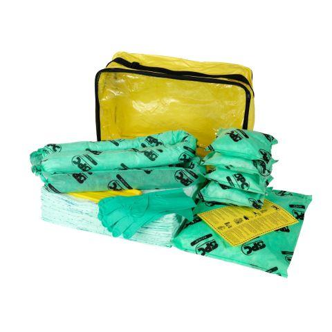 SKH-ADR-L Большой комплект для сбора химикатов:35 салфеток, 41 см x 51 см, 1 бон SOC, диам. 7.6 см x 122 см, 1 бон SOC диам. 7.6 см x 244 см 1