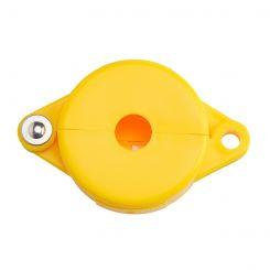 Блокиратор затворных вентилей, раздвижной, желтый, диаметр круглого элемента 25-64 мм