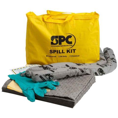 SKA-PP Экономичный комплект для сбора химикатов. 10 салфеток, 41 см x 51 см, 2 бона SOC, диам. 7.6 см x 122 см, 1 пара защитных перчаток,1 мешок для