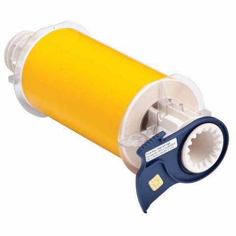 B85-150x15M-569-YL В-569 150 мм. Лента полиэстер высококачественный желтый. Длина 15 м. (BBP85/Powermark)