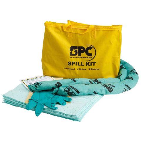 SKH-PP Экономичный комплект для сбора проливов во время ремонта. 10 салфеток, 41 см x 51 см, 2 бона SOC, диам. 7.6 см x 122 см, 1 пара защитных
