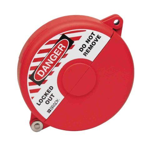 Блокиратор затворных вентилей, раздвижной, красный, диаметр круглого элемента 64-127 мм