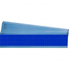 Brady TMM-COL-LB кабельные маркеры 6,35*12,7 мм. синий лист (упак./25 щт.)