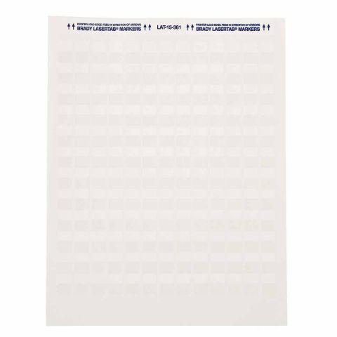Этикетки LAT-19-361-1 самоламинирующийся полиэстер 25,4мм*80,44мм 1000шт