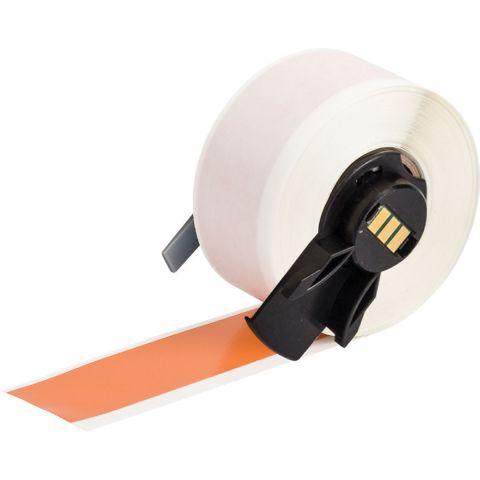 PTL-42-439-OR этикетки, 25.4мм * 15.24м. Винил оранжевый, матовый B439.