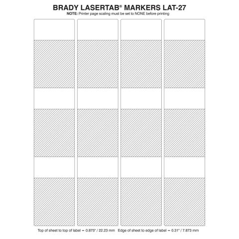 LAT-27-361-1 этикетки (1000 в упак)