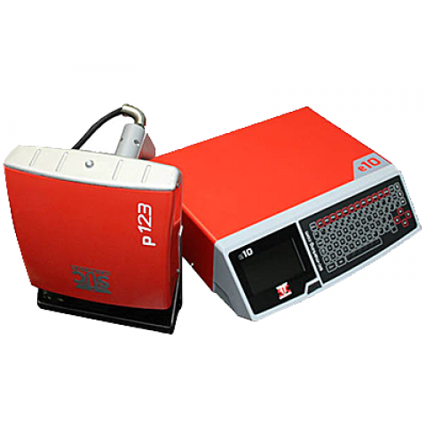 Портативный маркиратор SIC Marking e10-p123, окно 120х40мм, кабель 7.5м.
