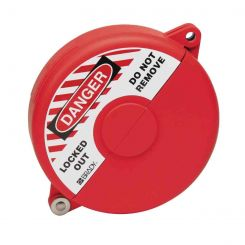 Блокиратор затворных вентилей, раздвижной, красный, диаметр круглого элемента 127-165 мм