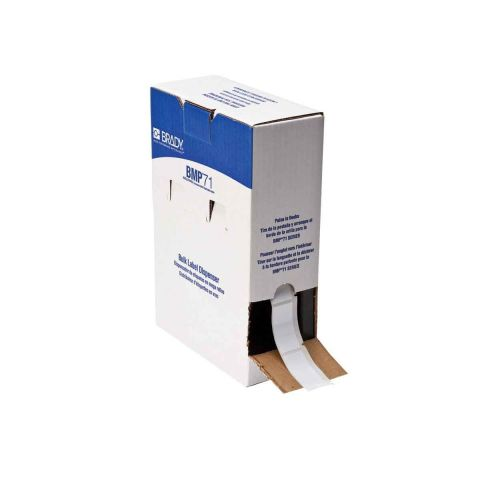 Brady BPTL-20-424 Синтетическая бумага белый матовый этикетки 50.8х25.4 мм упаковка 1000 шт.