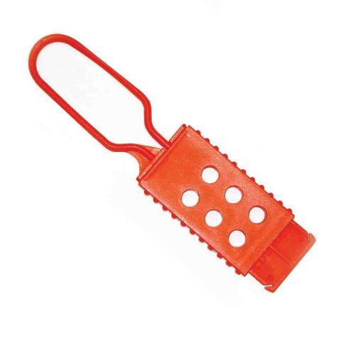Замковый множитель не проводящий ток, на 6 замков материал - нейлон, цвет оранжевый