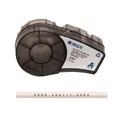 Brady M21-125-C-342 термоусадочная трубка, размер ленты:  6 мм х 2,10 м (для проводов d 1,2 х 2,8 мм), цвет маркировки: черный на белом