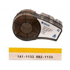 Brady M21-1250-427 самоламинирующиеся этикетки, размер ленты: 30,48 мм х 4,3 м (для провода d 3,2-5,7 мм), цвет маркировки: черный на белом