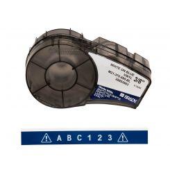Brady M21-375-595-BL размер ленты: 9,53 mm х 6,4 m, винил, цвет маркировки: белый на синем