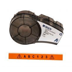 Brady M21-375-595-OR размеры ленты: 9,53mm х 6,4m, винил, цвет маркировки: черный на оранжевом